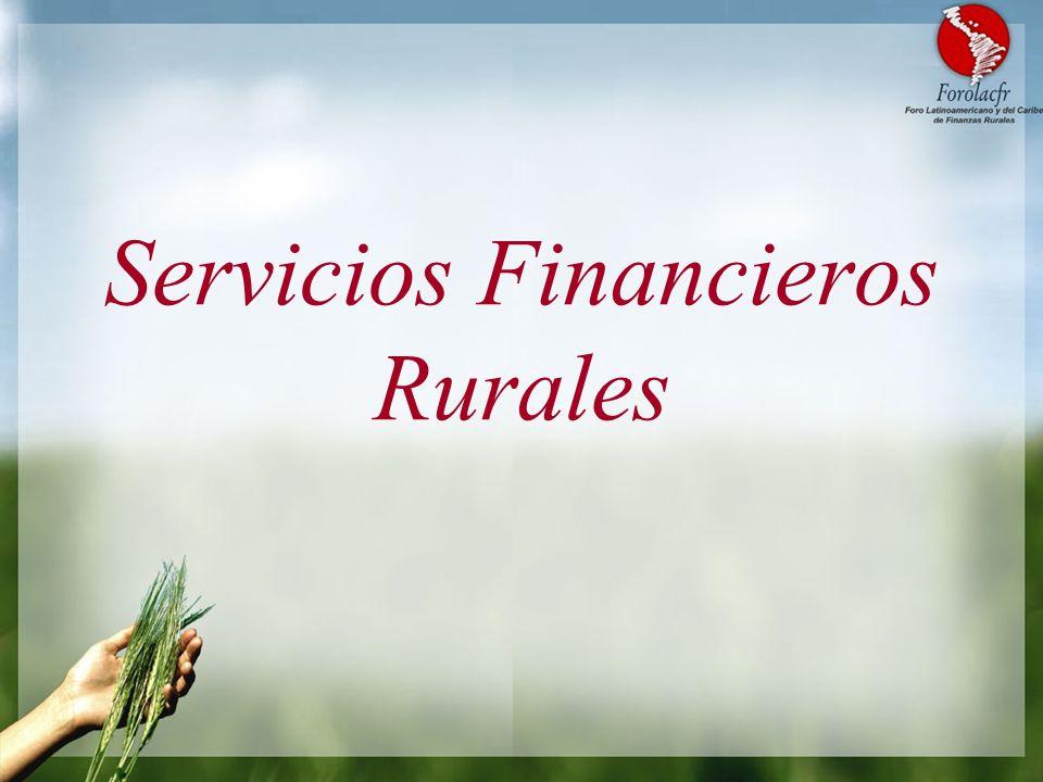 Servicios Financieros Rurales