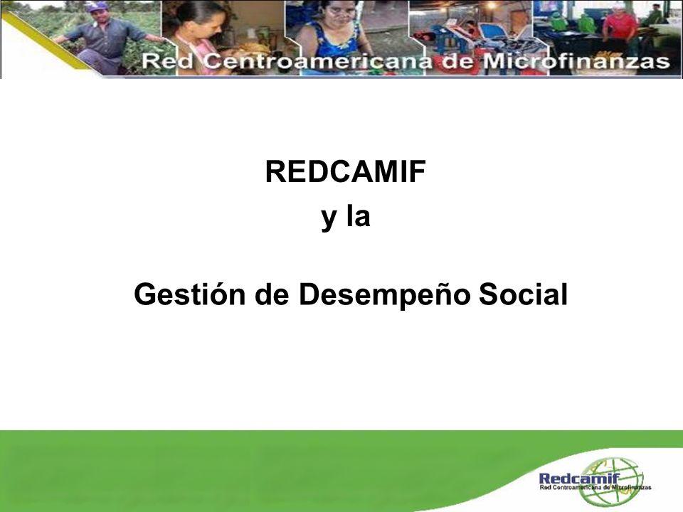 Gestión de Desempeño Social REDCAMIF y la