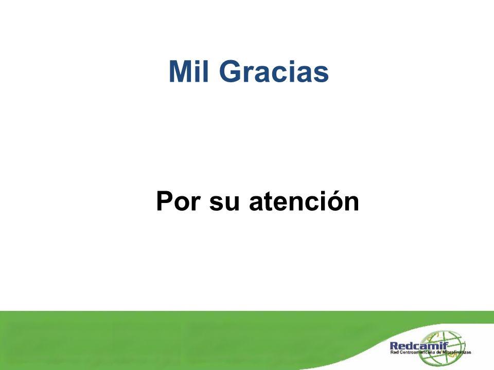 Mil Gracias Por su atención
