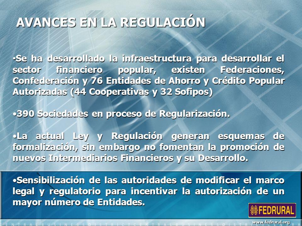 ALGUNOS OBSTÁCULOS EN LA REGULACIÓN El proceso de autorización de una Entidad es largo, debido a requisitos adicionales principalmente en sistemas.El proceso de autorización de una Entidad es largo, debido a requisitos adicionales principalmente en sistemas.