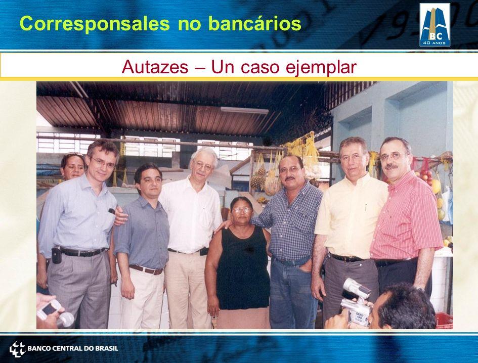 Autazes – Un caso ejemplar Corresponsales no bancários