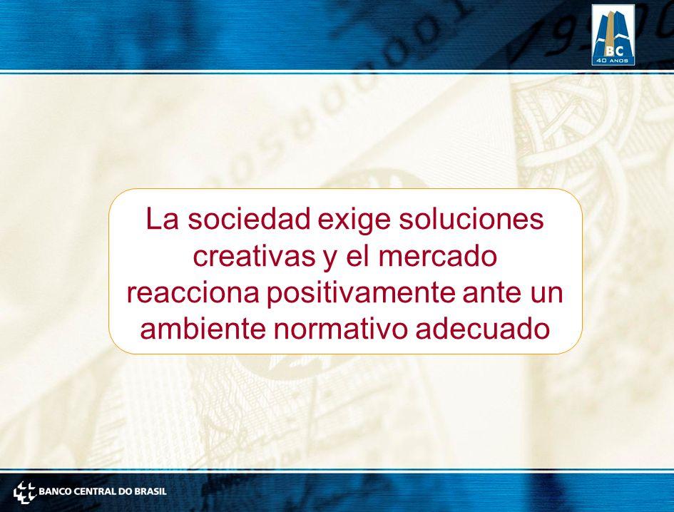 La sociedad exige soluciones creativas y el mercado reacciona positivamente ante un ambiente normativo adecuado