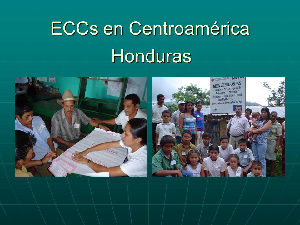 ECCs en Centroamérica Honduras
