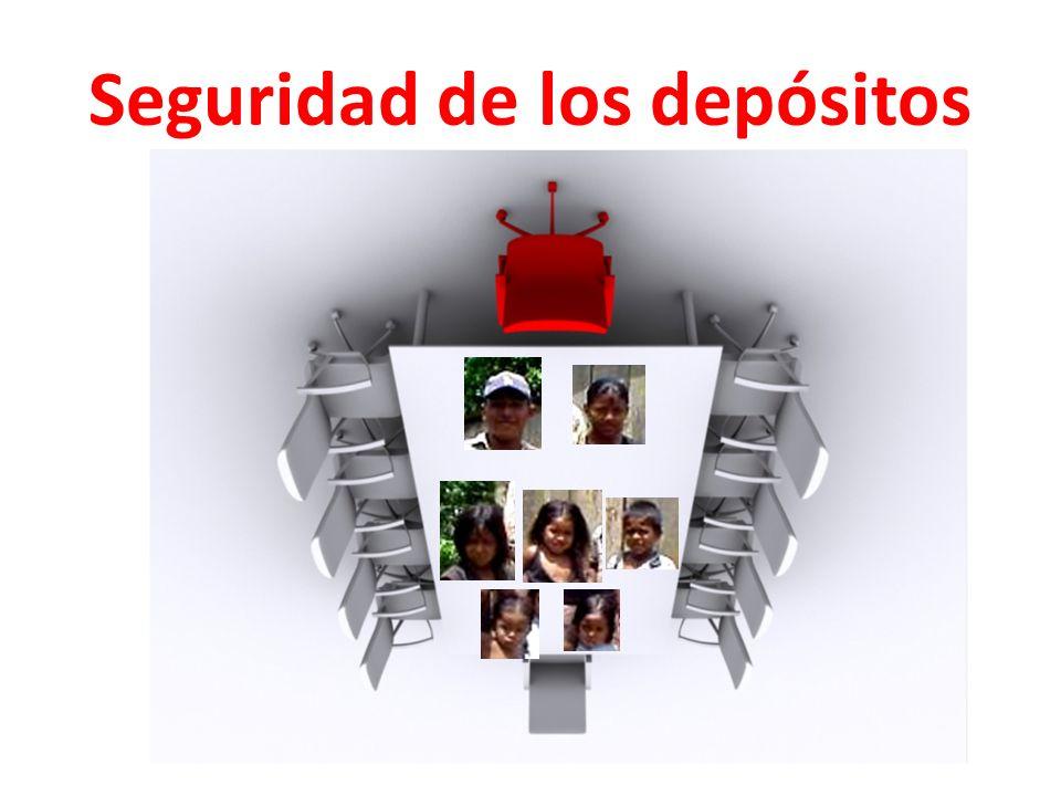 Seguridad de los depósitos