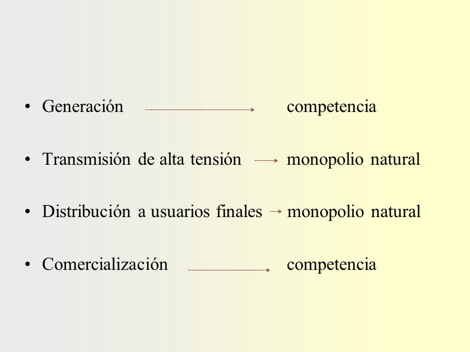 la actividad de distribución la comercialización Las distribuidoras gerencian dos tipos de negocios: