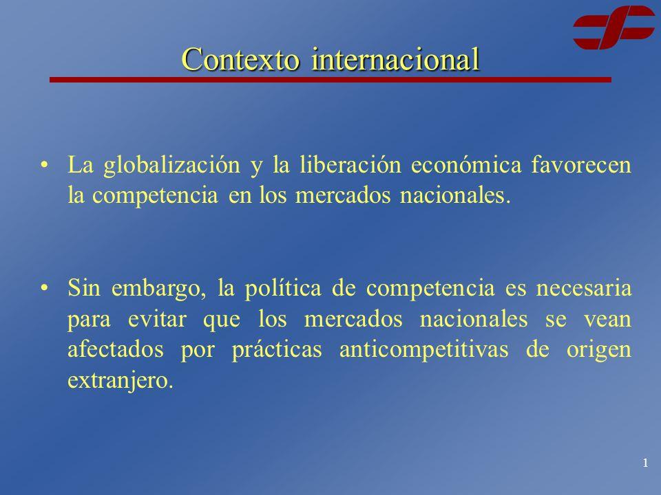 COMISIÓN FEDERAL DE COMPETENCIA Acuerdos de cooperación en materia de competencia Antonio González Quirasco Abril de 2003