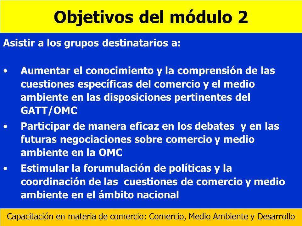 l l Procedimientos para el intercambio regular de información entre las secretarías de los AMUMA y los Comités pertinentes de la OMC, y los criterios para conceder la condición de observador.