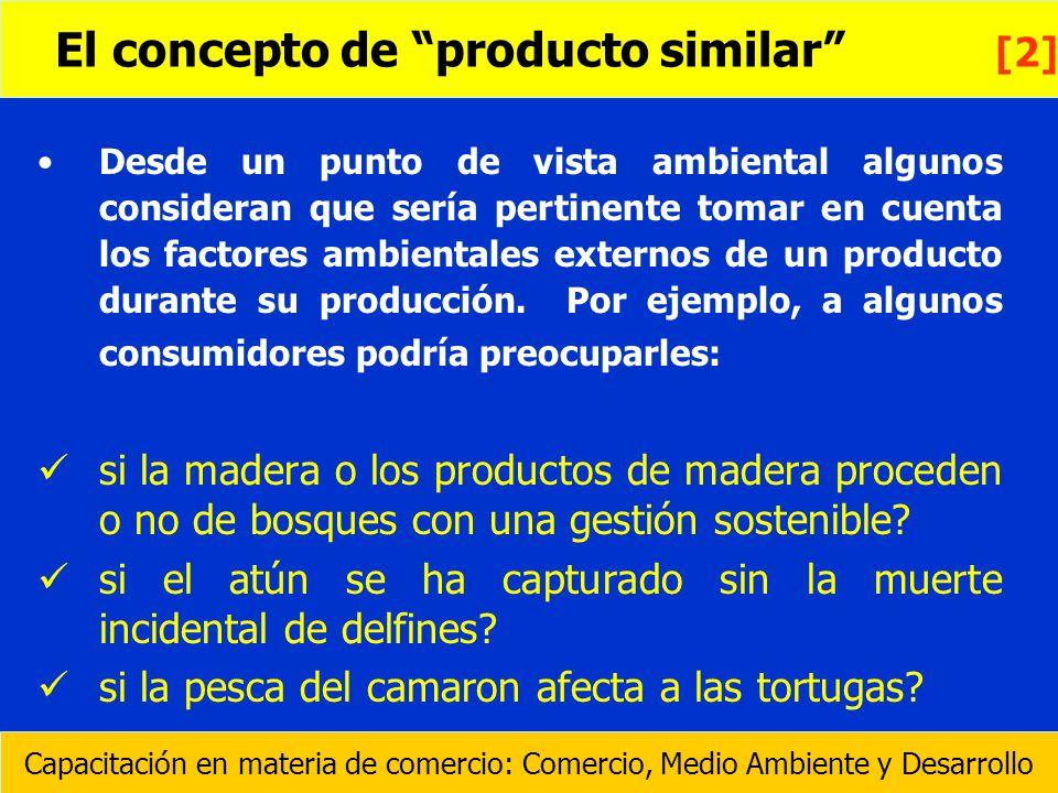 Desde un punto de vista ambiental algunos consideran que sería pertinente tomar en cuenta los factores ambientales externos de un producto durante su