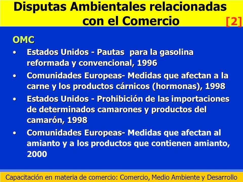 OMC Estados Unidos - Pautas para la gasolina reformada y convencional, 1996Estados Unidos - Pautas para la gasolina reformada y convencional, 1996 Com