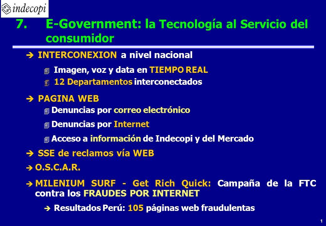 1 INTERCONEXION a nivel nacional 4 Imagen, voz y data en TIEMPO REAL 4 12 Departamentos interconectados PAGINA WEB 4 Denuncias por correo electrónico