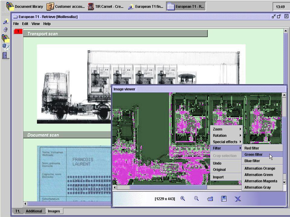 © UNCTAD 2003 36 End Interacción con Equipos de Inspección NO Intrusiva