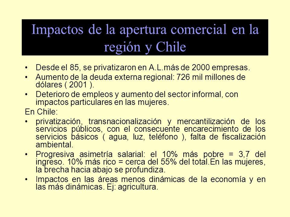 Propuestas -I ntegrar en el ALCA los temas de los Planes de Acción, con status jurídico similar al de comercio.