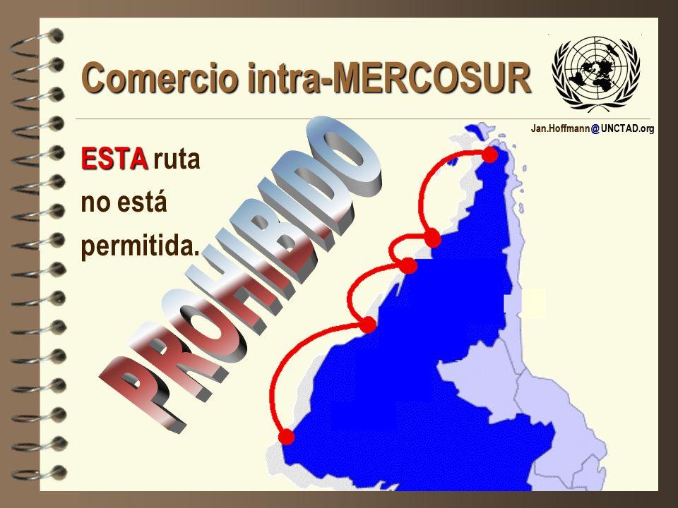 Jan.Hoffmann @ UNCTAD.org Comercio intra-MERCOSUR ESTA ESTA ruta no está permitida.