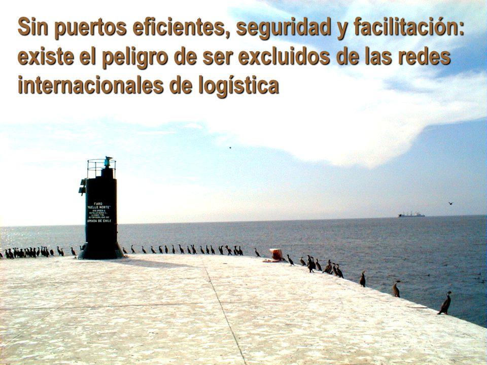 Jan.Hoffmann @ UNCTAD.org Sin puertos eficientes, seguridad y facilitación: existe el peligro de ser excluidos de las redes internacionales de logísti