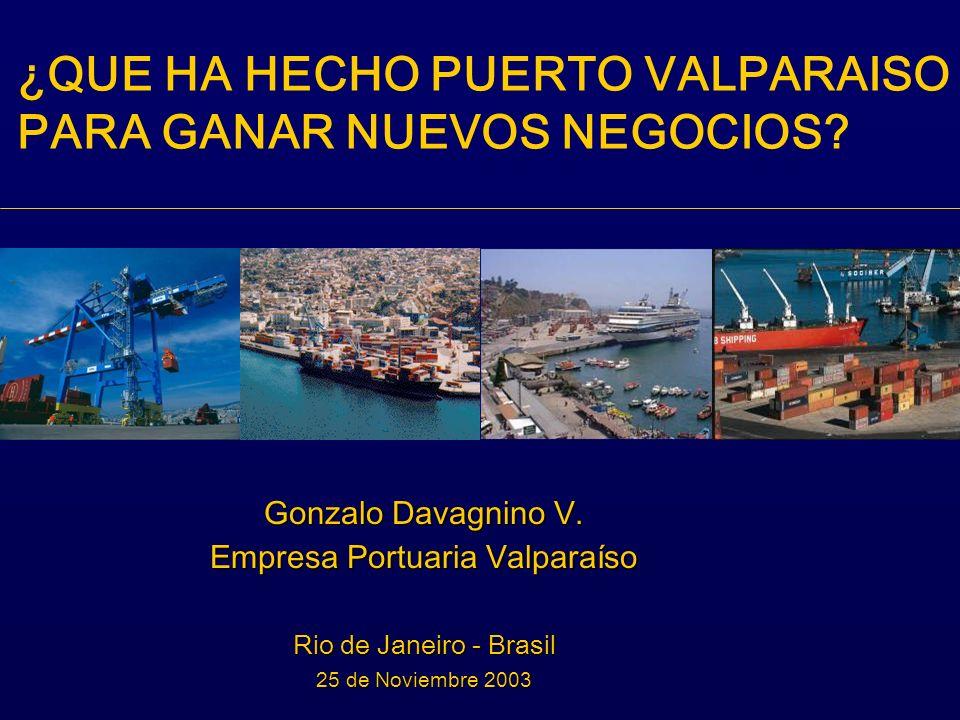 Sistema de Información Logístico Portuaria orientado a entregar información de la Cadena Logística de Puerto Valparaíso y generar el intercambio de información entre los distintos actores, a fin de lograr una coordinación eficiente.