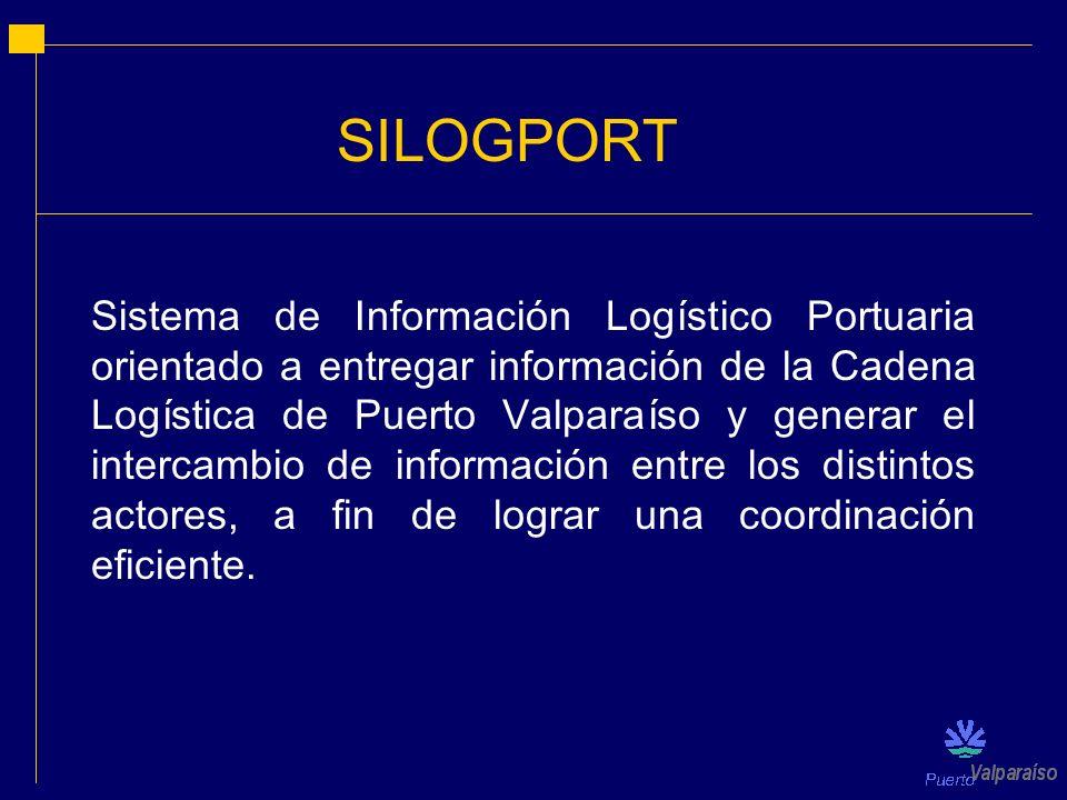 Sistema de Información Logístico Portuaria orientado a entregar información de la Cadena Logística de Puerto Valparaíso y generar el intercambio de in
