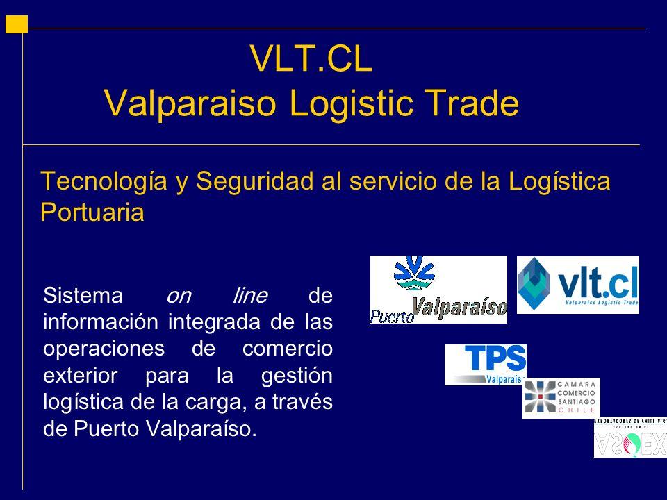 Sistema on line de información integrada de las operaciones de comercio exterior para la gestión logística de la carga, a través de Puerto Valparaíso.