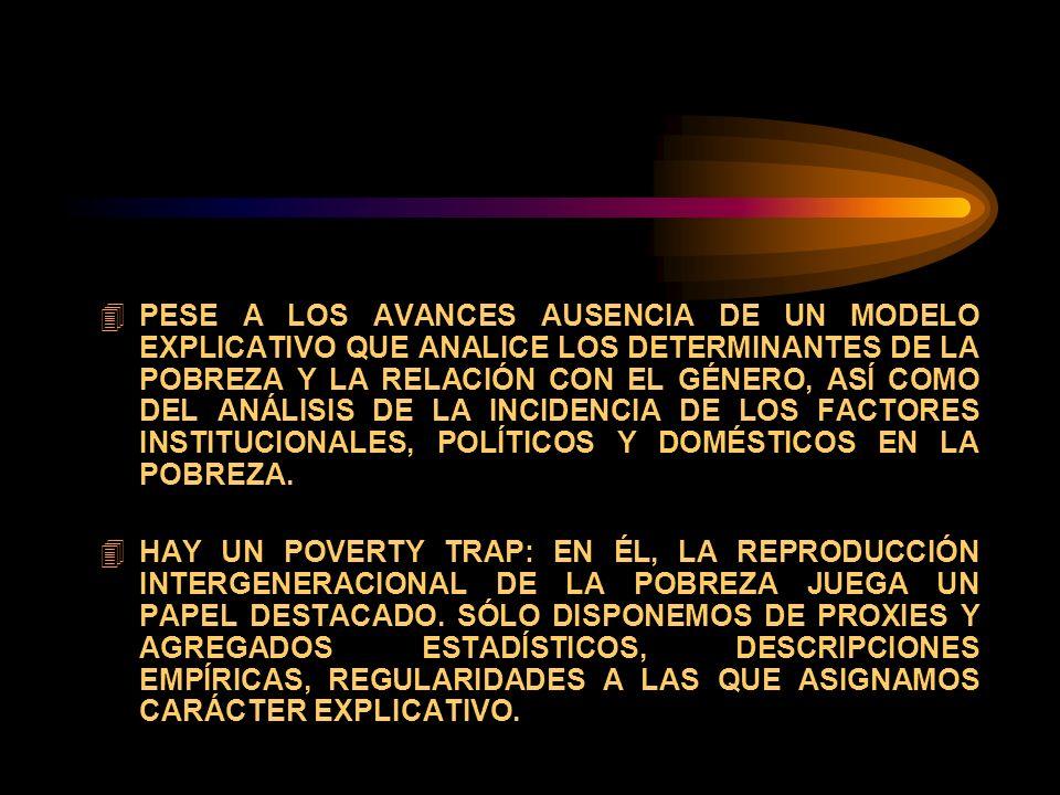 María del Carmen Feijoó Agosto, 2003 DESAFIOS CONCEPTUALES DE LA POBREZA DESDE UNA NUEVA PERSPECTIVA DE GENERO