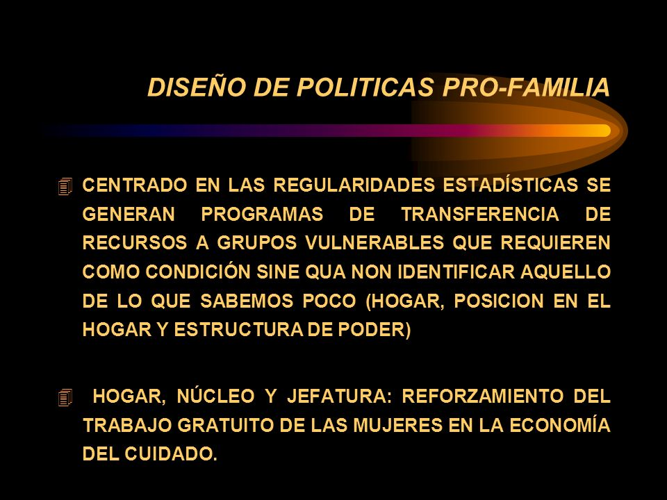 LA VIRTUOSIDAD DE LA FAMILIA COMPLETA...(Cont.) LO QUE RESULTA CLARO ES QUE ESTA PAUTA DE MAYOR ELECTIVIDAD PROPIA DE LOS PROCESOS DE SECULARIZACIÓN POSEE IMPACTOS PROBLEMÁTICOS EN LOS SECTORES DE MENORES INGRESOS EN DONDE LA RETRACCIÓN DEL ROL PROTECTOR Y ORIENTADOR DE LA FAMILIA NO PUEDE COMPENSARSE CON LOS RECURSOS RICOS EN CAPITAL SOCIAL, FÍSICO Y HUMANO QUE EN CAMBIO POSEEN LAS FAMILIAS DE MAYORES INGRESOS