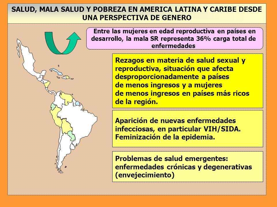 Diferencias en el uso de servicios basados en las necesidades de las mujeres, Brasil