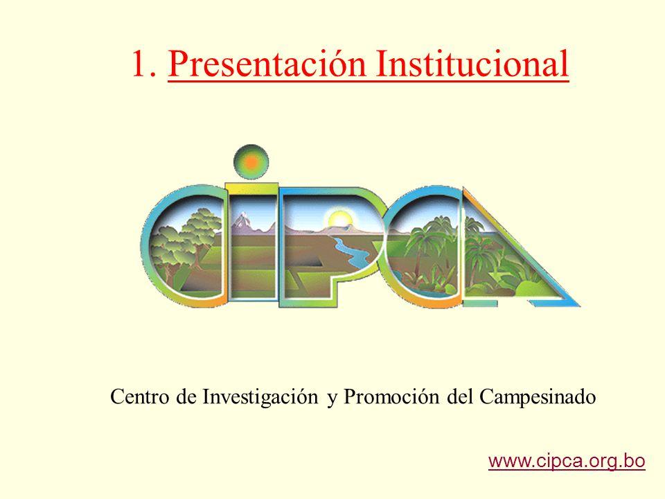 1.Presentación Institucional Asociación civil sin fines de lucro.