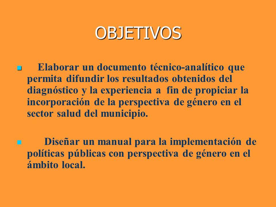 METODOLOGIA La metodología propuesta consiste en una aproximación de tipo cuanti-cualitativa a la situación de los trabajadores y trabajadoras del sector salud en Córdoba, buscando detectar complejidades y particularidades desde una perspectiva de género que caracterizan a esta ocupación.