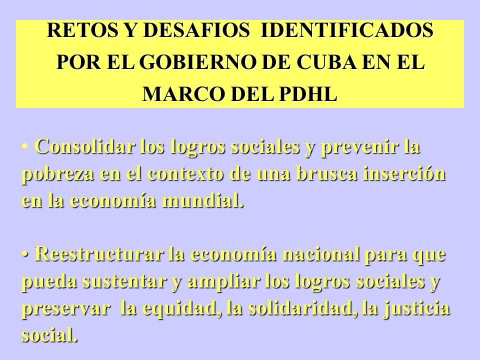 PROGRAMA DE DESARROLLO HUMANO LOCAL EN CUBA - PDHL COOPERACION ACTORES DESARROLLO LOCAL M I N V E C O N G (s)