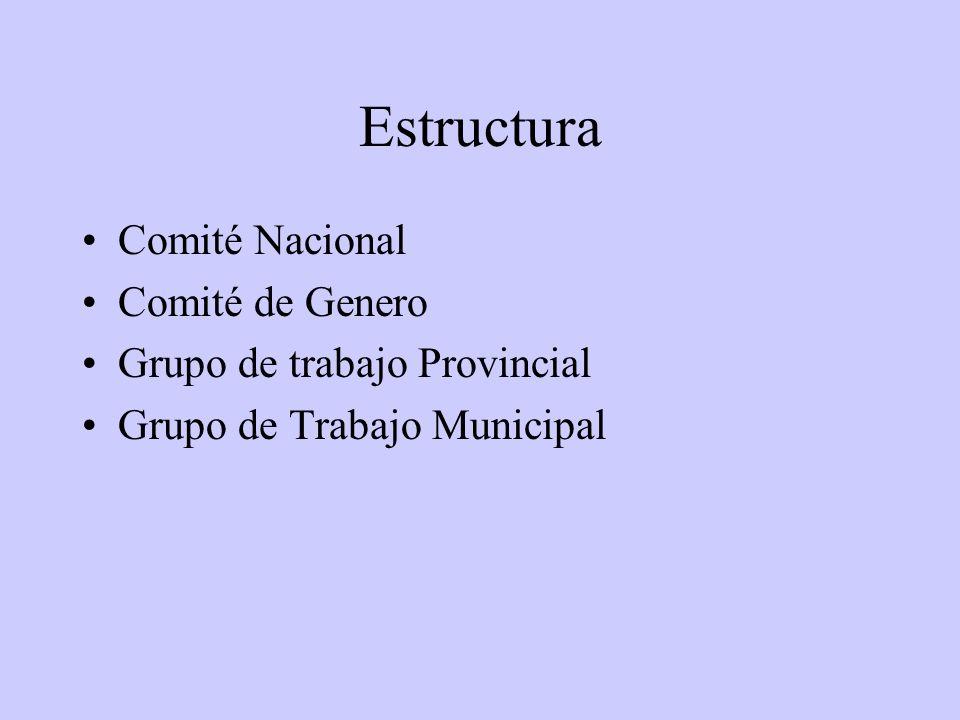 LINEAS DE ACCIÓN Apoyo a la descentralización técnico- administrativa en el ámbito de las políticas nacionales.