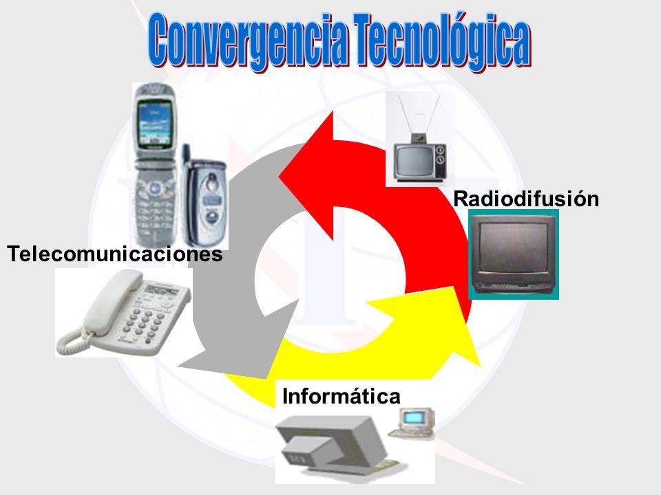 Informática Telecomunicaciones Radiodifusión