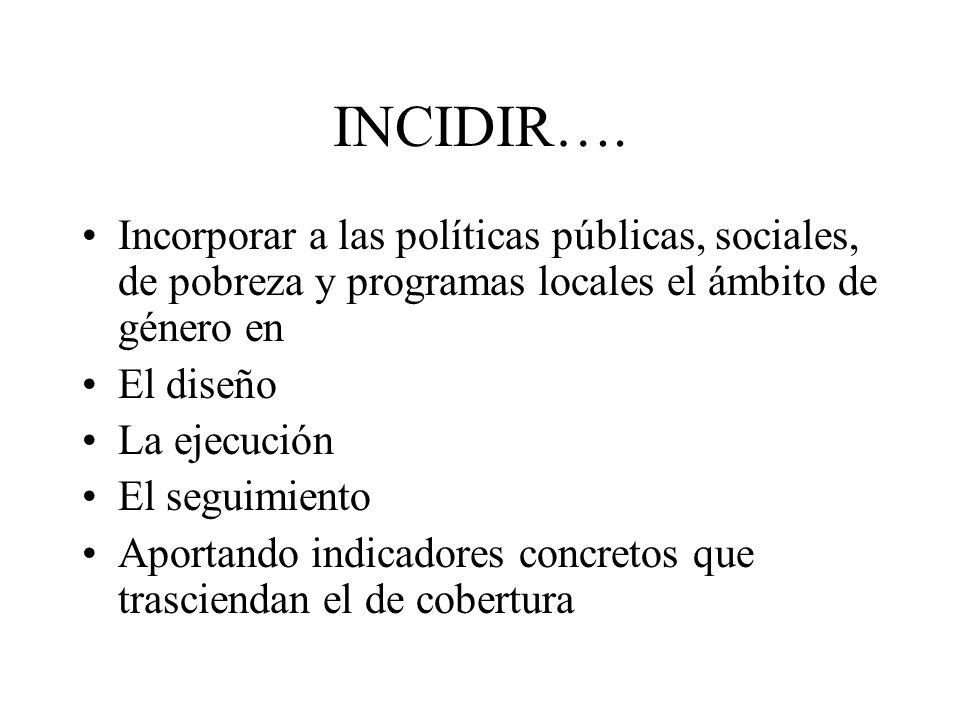 INCIDIR….