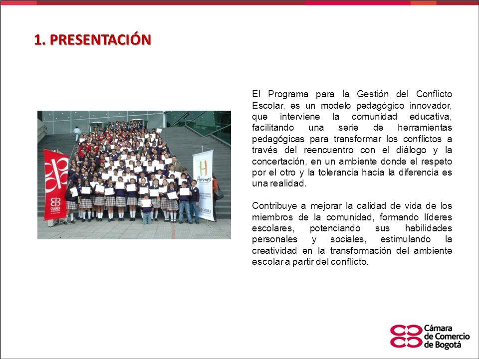 En las escuelas y colegios de Bogotá no se habla de conflicto, de su análisis, de su manejo y de la prevención del escalamiento del mismo, de la co-responsabilidad para su manejo y mucho menos de la posibilidad de abordarlo a partir de la intervención de un tercero par.