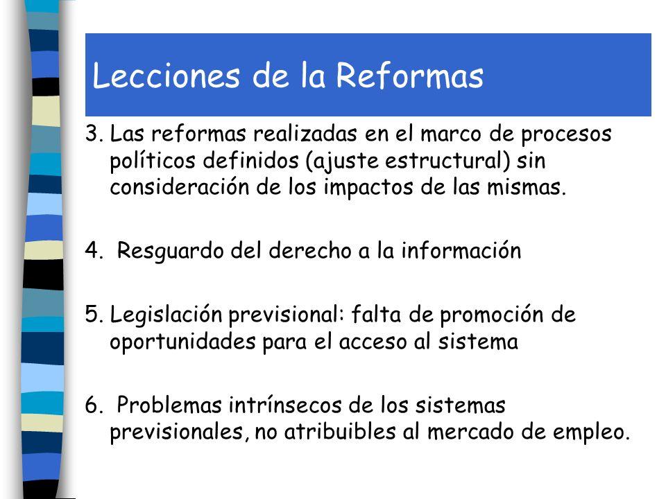 Lecciones de la Reformas 3.