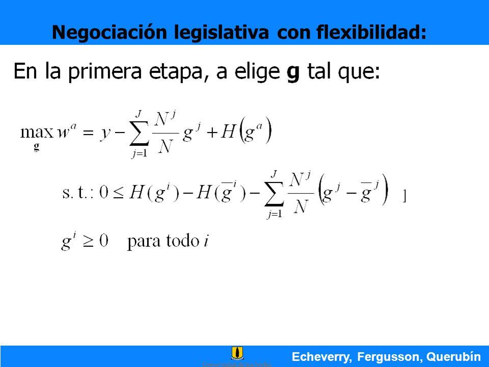 Negociación legislativa con flexibilidad: Echeverry, Fergusson, Querubín