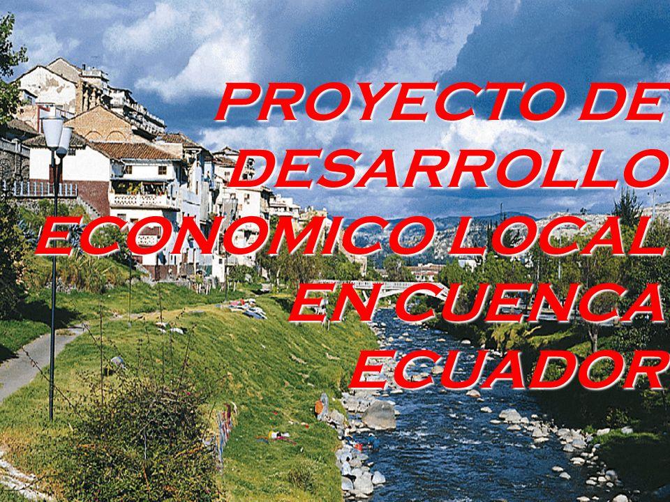 ACUDIR Se pretende que el Desarrollo Económico Localsea un concepto y una línea de acción permanentemente presentes en la sociedad cuencana.