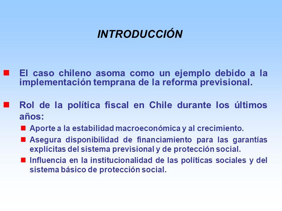El caso chileno asoma como un ejemplo debido a la implementación temprana de la reforma previsional.