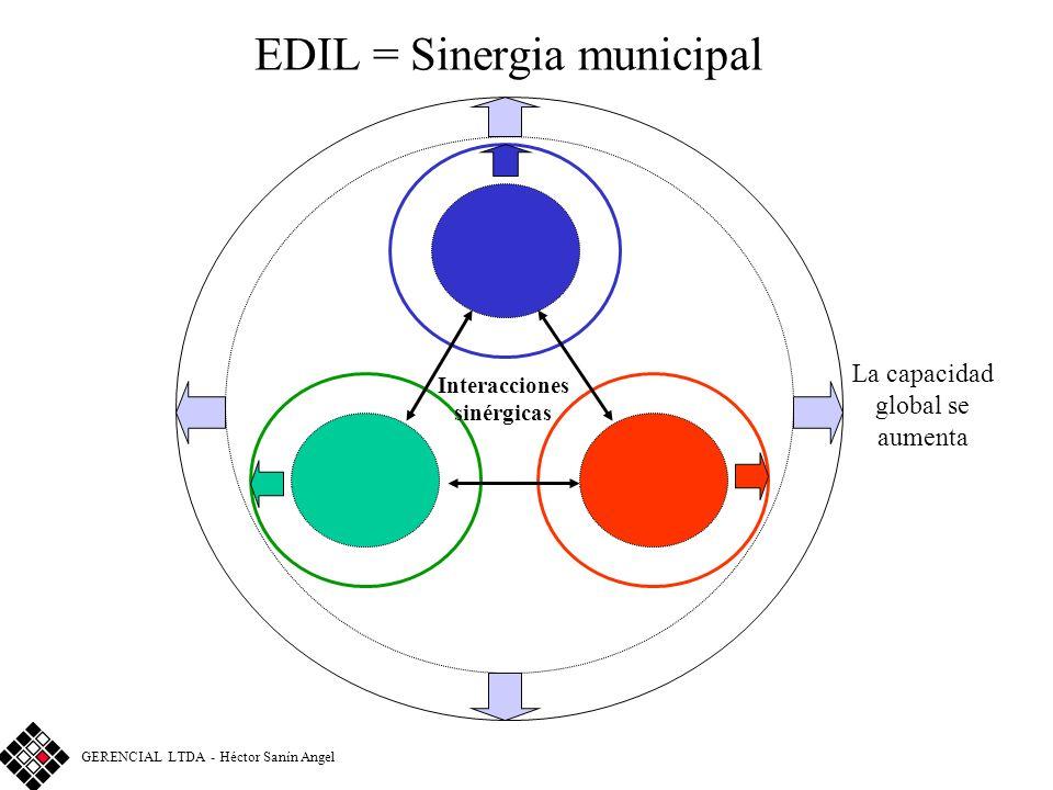 Enfoque EDIL Matriz para el análisis de sistemas de gestión © GERENCIAL LTDA - Héctor Sanín Angel FUNCIÓN o SISTEMAEDIL X X XX XX XX X XXX