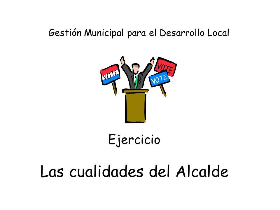 EDIL = Sinergia municipal GERENCIAL LTDA - Héctor Sanín Angel Interacciones sinérgicas La capacidad global se aumenta