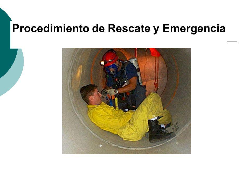 Procedimiento de Rescate y Emergencia