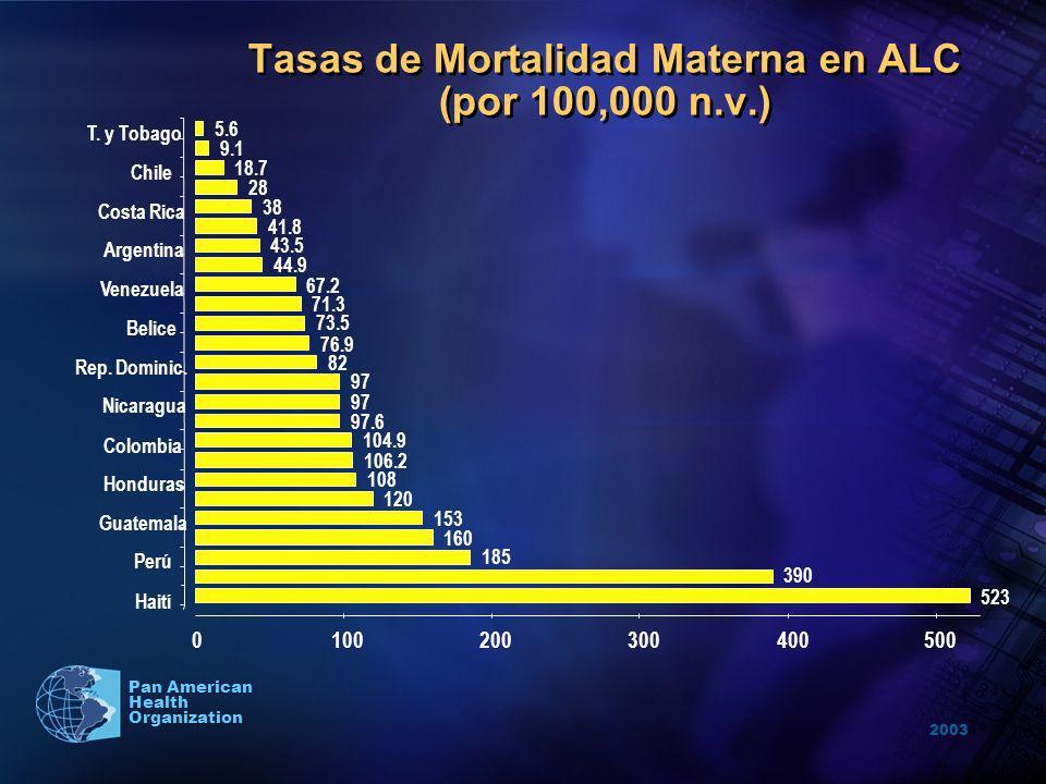 2003 Pan American Health Organization Mandato consensuado de los países miembros de las NU emitido al más alto nivel de Jefes de Estado.