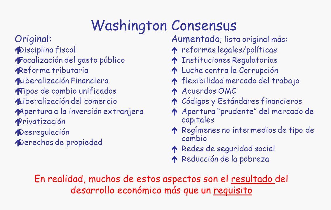 La regulación macroeconómica: una construcción social Programa de Tinbergen-Theil: Controlar las variables objetivo con instrumentos seleccionados, bajo la restricción de un modelo macroeconómico, para un conjunto dado de variables exógenas.