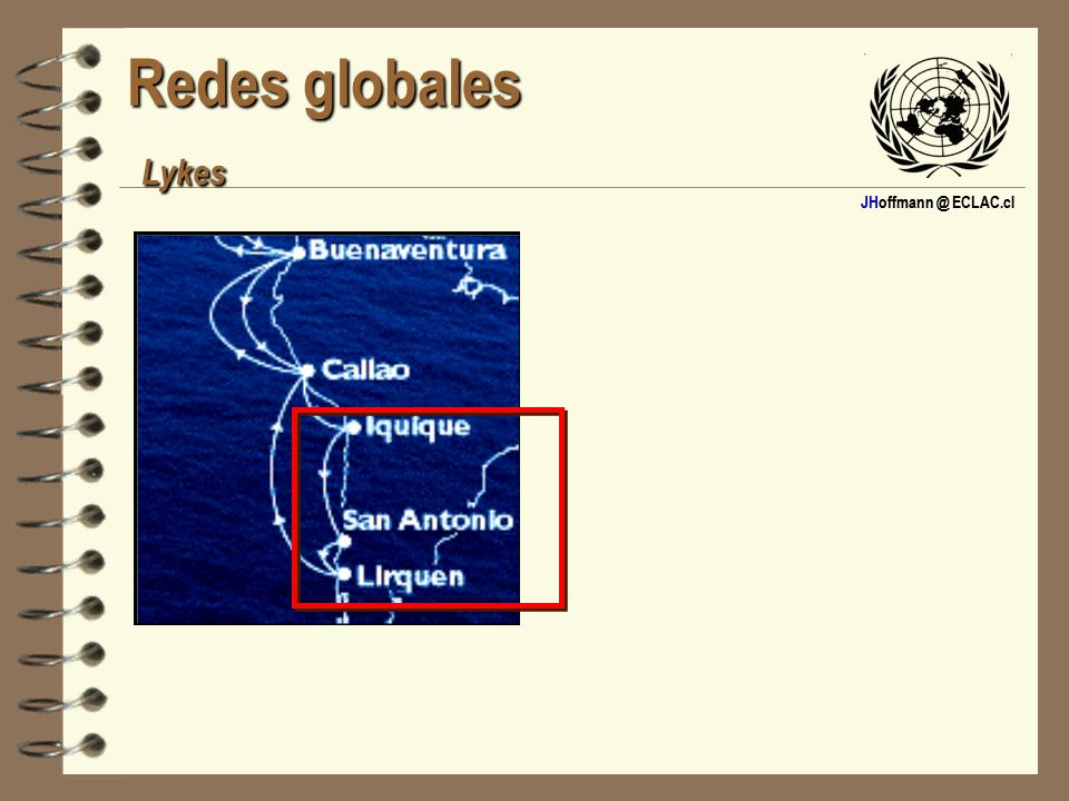 JHoffmann @ ECLAC.cl Redes globales Lykes