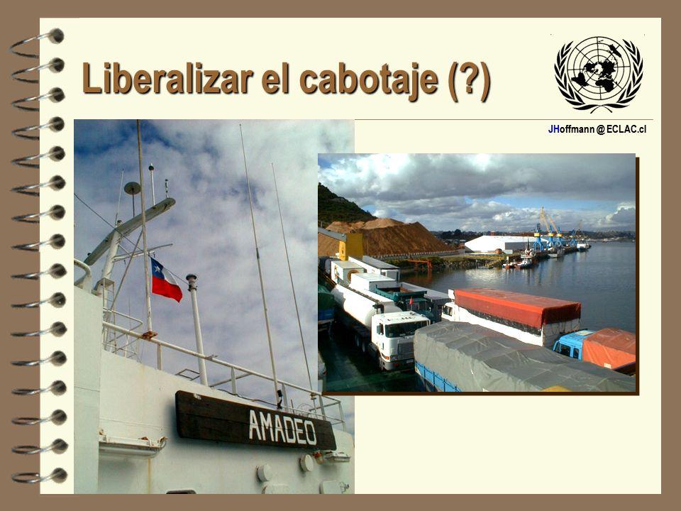 JHoffmann @ ECLAC.cl Liberalizar el cabotaje (?)