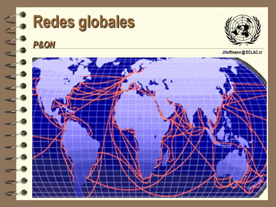 JHoffmann @ ECLAC.cl Redes globales MSC