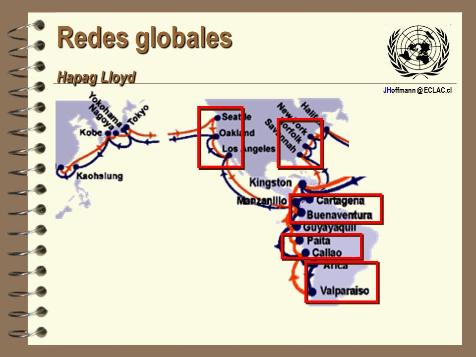 JHoffmann @ ECLAC.cl Redes globales Maersk-Sealand