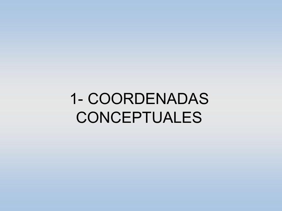 1- COORDENADAS CONCEPTUALES