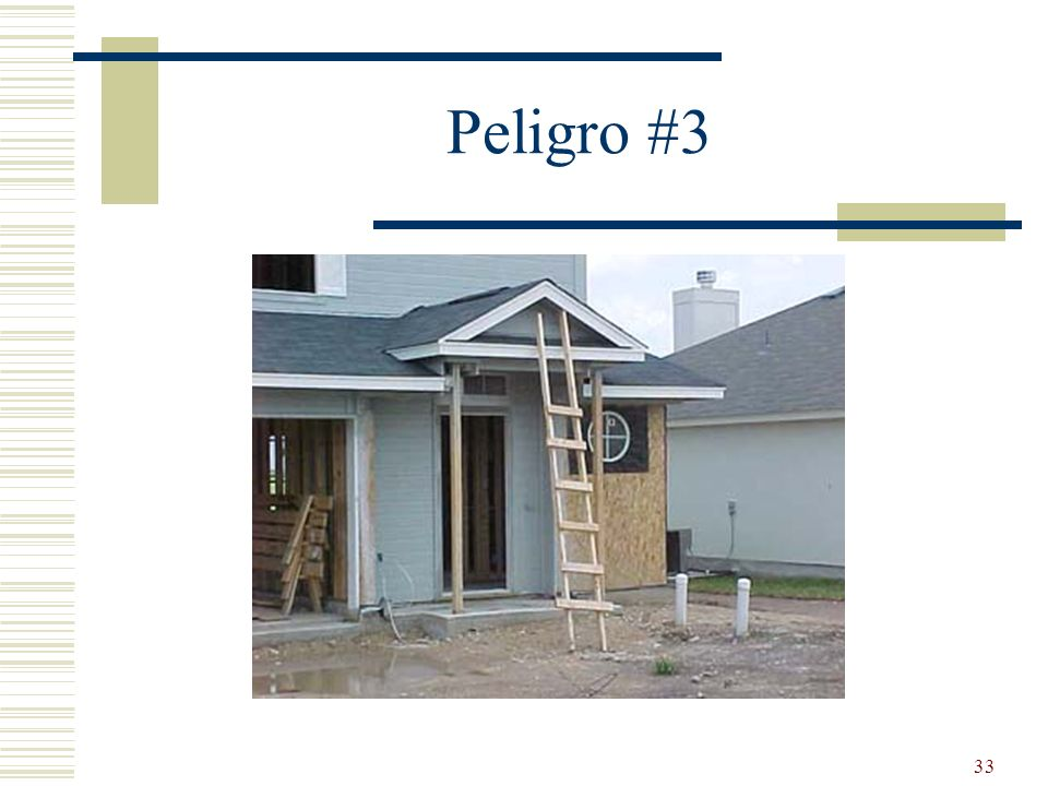 33 Peligro #3