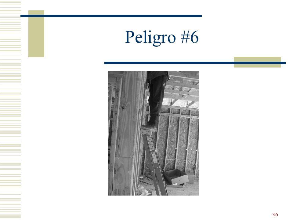 36 Peligro #6