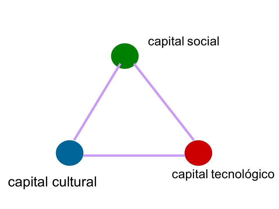 capital social capital cultural capital tecnológico