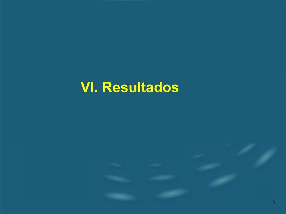 51 VI. Resultados
