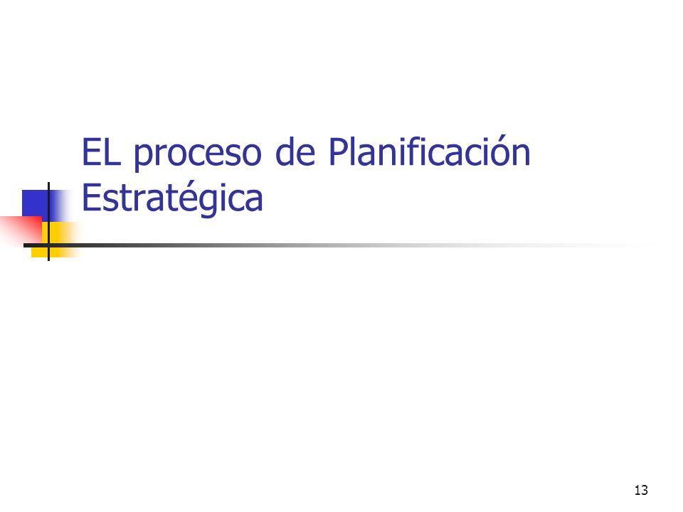 12 La metodología de PE depende de los diferentes niveles de decisión gubernamental en que se aplica Planeación Nacional de Desarrollo –Lineamientos E